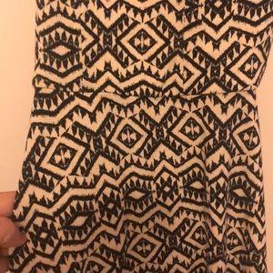 Xhilaration Dresses - Black and white summer dress